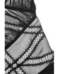 Alberta Ferretti - Black Blouse - Lyst