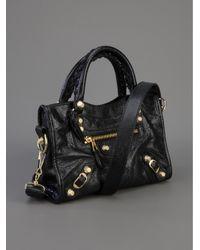 Balenciaga - Black Classic City Leather Tote - Lyst