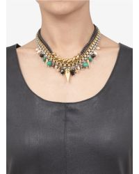 Ela Stone | Multicolor Angelica Multi-chain Necklace | Lyst