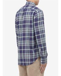 J.Crew - Blue Indian Cotton Shirt for Men - Lyst