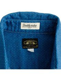 J.Crew - Blue Shuttle Notes Shirt in Dobby Stripe for Men - Lyst