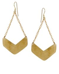ASOS | Metallic Made Evil Brass Earrings | Lyst