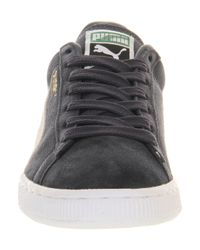 PUMA - Gray Suede Classic for Men - Lyst