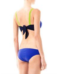 ROKSANDA | Black Estes Colourblock Bikini | Lyst