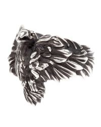 Werkstatt:münchen | Metallic Eagle Ring for Men | Lyst
