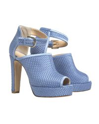 Bionda Castana | Cornflower Blue Christa Sandals  | Lyst