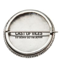 Cast Of Vices | Metallic Modern Drugs Badge for Men | Lyst
