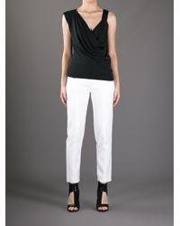 Chloé | White Silk Oversized Blouse | Lyst