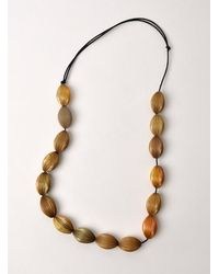J.W.Anderson | Black Small Ball-ball Necklace - Last One | Lyst