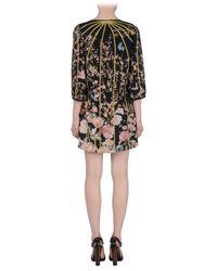 Thakoon | Black Poplin Underlay Wool Dress | Lyst