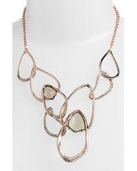 Alexis Bittar | Pink Miss Havisham Multi Link Bib Necklace | Lyst