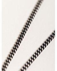Ann Demeulemeester - Metallic Womens Long Mirror Necklace - Lyst
