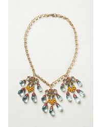 Anthropologie - Metallic Talisman Necklace - Lyst