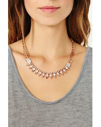 Nasty Gal - Pink Pretty Tough Necklace - Lyst