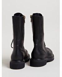 Rick Owens | Black Womens Army Boots | Lyst