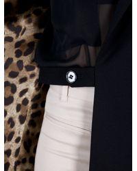 Dolce & Gabbana   Black Oversize Blazer   Lyst