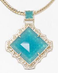 Kendra Scott | Metallic Savannah Necklace 16 | Lyst