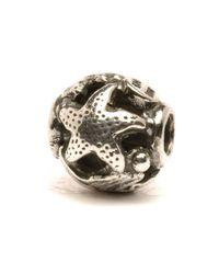 Trollbeads | Metallic Ocean Silver Bead | Lyst