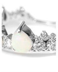 Fernando Jorge - Metallic Diamond, Opal & Gold Electric Crown Ring - Lyst