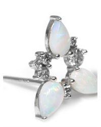 Fernando Jorge | White Diamond Gold Electric Spark Earrings | Lyst