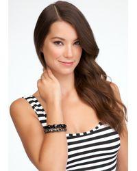 Bebe   Black Bling Bracelet Set   Lyst