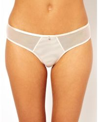 Cheap Monday | Natural Mesh Brief | Lyst