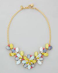 kate spade new york - Multicolor Bungalow Bouquet Short Necklace - Lyst