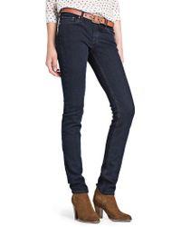 Mango - Blue Slimfit Dark Jeans - Lyst