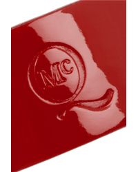 McQ - Textured-leather Wrap Bracelet - Lyst