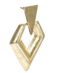 ASOS - Metallic Hinged Arrow Earrings - Lyst