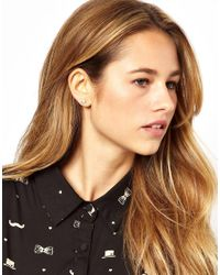 Cath Kidston | Natural Pearl Earrings | Lyst
