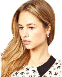 Cath Kidston | Metallic Daisy Earrings | Lyst
