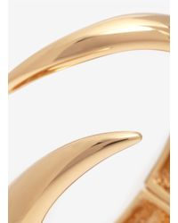 Giuseppe Zanotti | Metallic Pointed Coil Bangle | Lyst