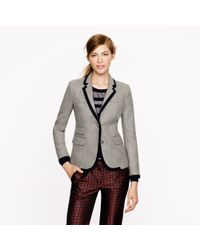 J.Crew - Gray New Schoolboy Blazer in Tipped Wool - Lyst