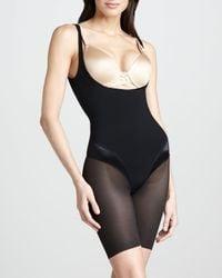 Spanx - Black Haute Contour Openbust Bodysuit  - Lyst