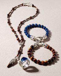 Stephen Webster | Blue Ravens Skull Bracelet Lapis | Lyst