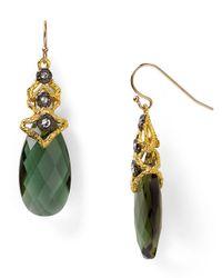 Alexis Bittar - Jardin De Papillon Lace Capped Mystic Green Earrings - Lyst
