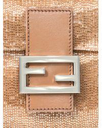 Fendi | Natural Baguette Beaded Bag | Lyst