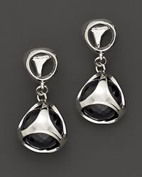 Di Modolo | Metallic Sterling Silver and Black Onyx Triadra Icon Earrings | Lyst