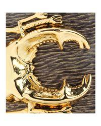 Iam By Ileana Makri - Metallic Goldplated Beetle Cuff Bracelet - Lyst