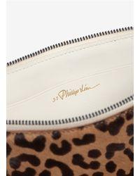 3.1 Phillip Lim - Multicolor Leopardprint Calf Hair Pouch - Lyst