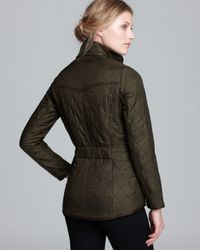 Barbour - Green Cavalry Polarquilt Jacket - Lyst