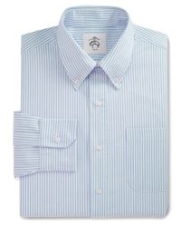 Brooks Brothers | Blue Stripe Button-down Dress Shirt for Men | Lyst