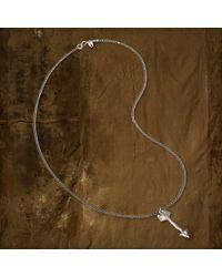 Denim & Supply Ralph Lauren - Metallic Arrow Charm Necklace - Lyst