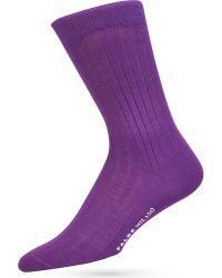Falke - Purple Milano Socks for Men - Lyst