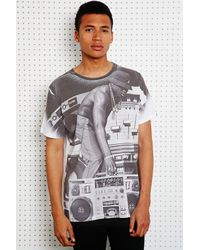 Urban Outfitters | White Ichiban Hip Hop Sublimation Print Tee for Men | Lyst
