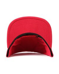 Vans - Red The Classic Patch Snapback Hat for Men - Lyst