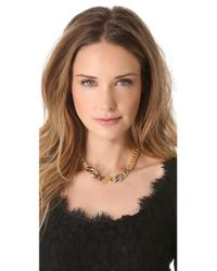 Alexis Bittar - Metallic Chain Link Necklace - Lyst