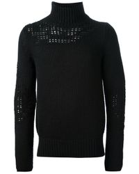 Diesel Black Gold | Black Kiarturo Sweater for Men | Lyst