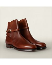 RRL | Brown Jodhpur Boot for Men | Lyst